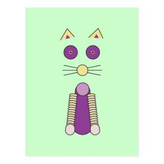 Postal Gato dulce