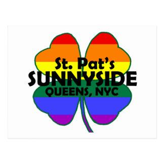 Postal gay de Sunnyside del irlandés