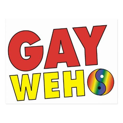 Postal gay de WeHo