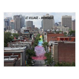 Postal gay, pride, orgullo, pueblo gay, Montreal