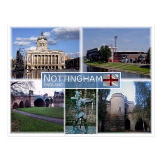 Postal GB Reino Unido - Inglaterra - Nottingham -