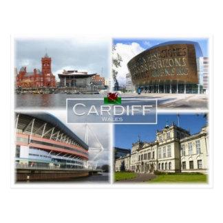 Postal GB Reino Unido - País de Gales - Cardiff -