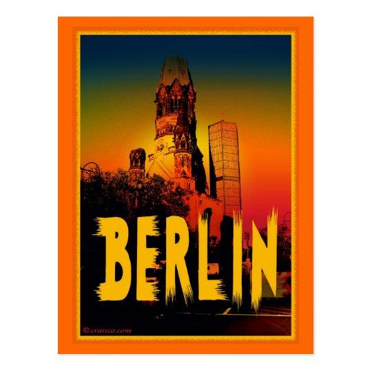 Postal gedächtniskirche iglesia memoria en Berlin