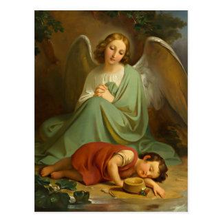 Postal Gel, de protección y niño durmiente