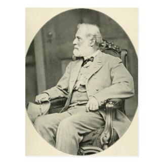 Postal General confederado Roberto E. Lee Sitting en