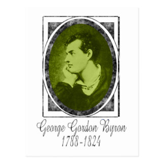 Postal George Gordon Byron