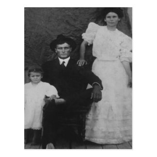 Postal George, Ida, y poco Zorah Langley