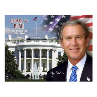 Postal George W. Bush - 43.o presidente de los E.E.U.U.