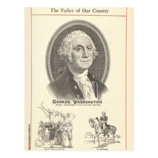 Postal George Washington