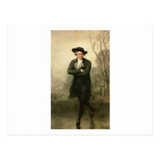 Postal Gilbert Estuardo el retrato de Guillermo Grant del
