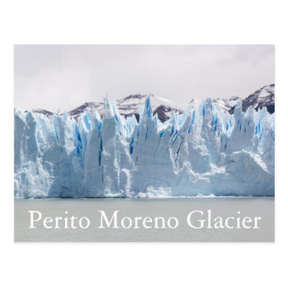 Postal Glaciar de Perito Moreno, Patagonia, la Argentina