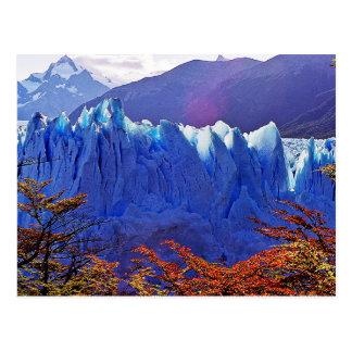 Postal Glaciar Perito Moreno