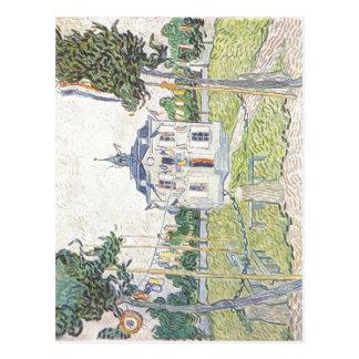 Postal Gogh, Vincent Willem van Das Gemeindehaus en Auver