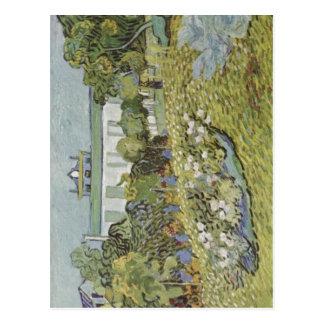 Postal Gogh, Vincent Willem van Der Garten Daubignys 1890