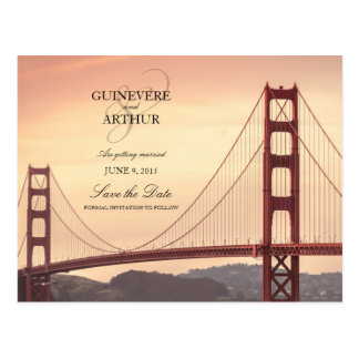 Postal Golden Gate de San Francisco que casa reserva la