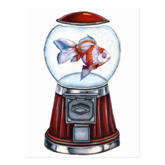 Postal Goldfish de BubbleGum