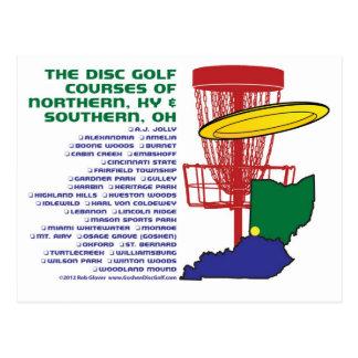 Postal Golf del disco de Ohio Kentucky