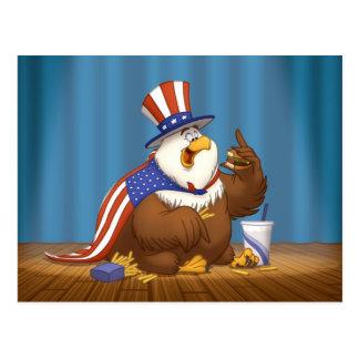 Postal gorda de American Eagle