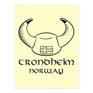 Postal Gorra de Strondheim Noruega Viking