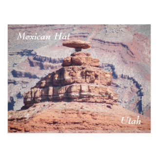 Postal Gorra mexicano
