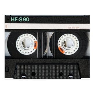 Postal Grabadora retra de cinta del vintage 70s 80s