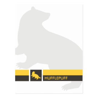 Postal Gráfico del orgullo de la casa de Harry Potter el
