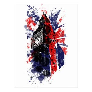 Postal Gran Bretaña Big Ben
