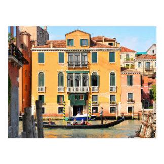 Postal Gran Canal, Venecia, Italia
