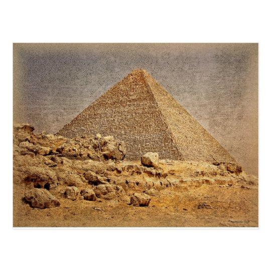 Postal Gran pirámide de Khufu