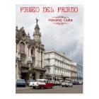 Postal Gran teatro de La Habana, Paseo del Prado, Cuba