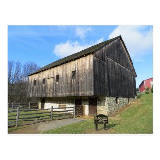 Postal Granero en el museo de la granja del condado de