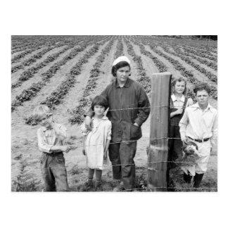 Postal Granja de la familia de Arnold la nueva - 1939