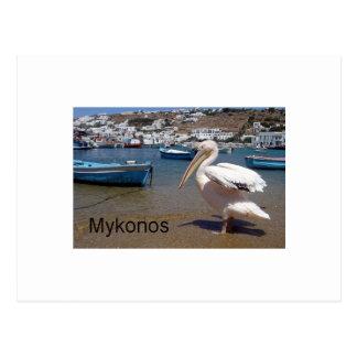 Postal Grecia Mykonos PEDRO (St.K)