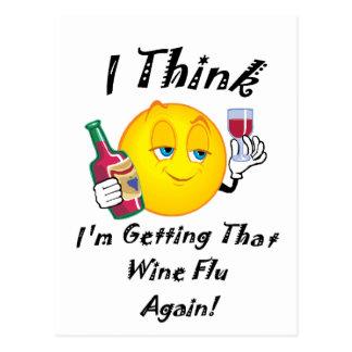 Postal Gripe del vino