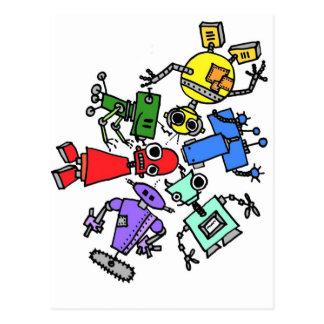 Postal Grupo de los robots 2