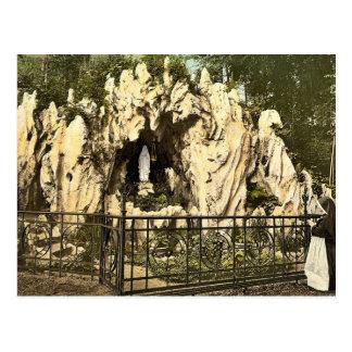 Postal Gruta de Lourdes, cerca del convento de monjas de