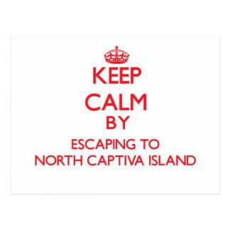 Postal Guarde la calma escapándose a la isla del norte