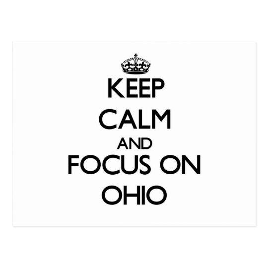 Postal Guarde la calma y el foco en Ohio