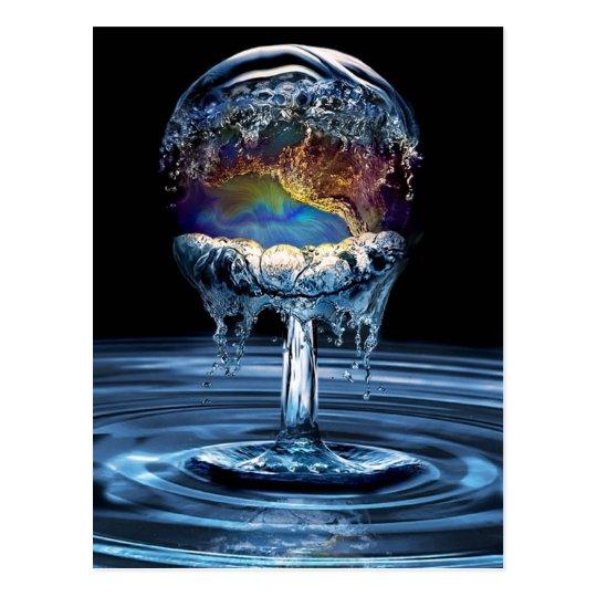 Postal Guerra del agua