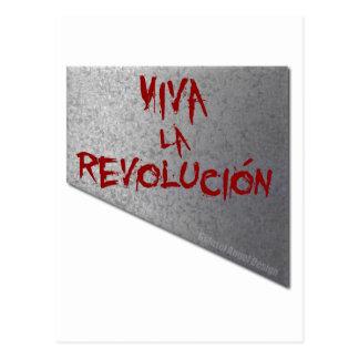 Postal Guillotina de Revolucion del la de Viva
