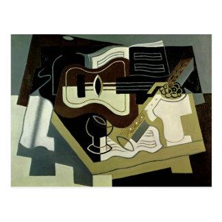 Postal Guitar y Clarinet, 1920