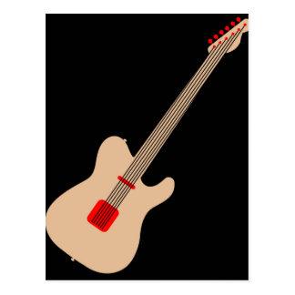 Postal Guitarra acústica