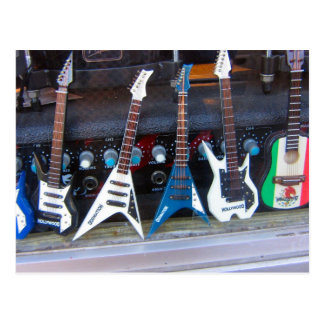 Postal Guitarras de Hollywood