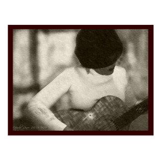 Postal Guitarrista