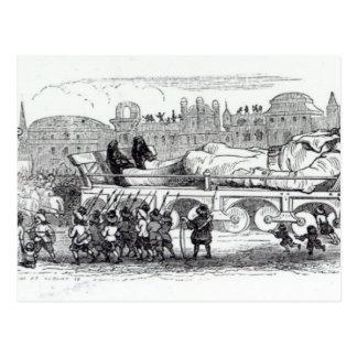 Postal Gulliver transportó al Lilliputian