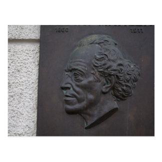 Postal Gustav Mahler