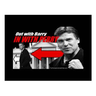 Postal Hacia fuera con Barry - adentro con Perry