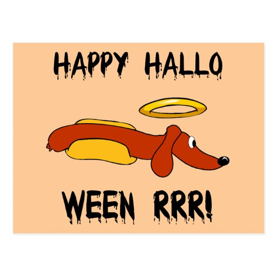 Postal Halloween divertido