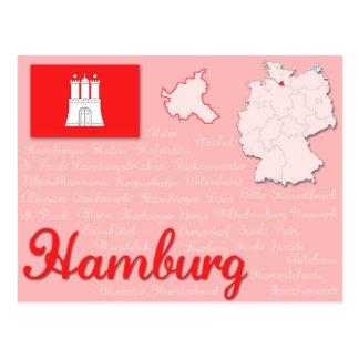 """Postal """"Hamburgo """""""