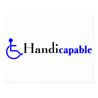 Postal Handicapable (silla de ruedas)